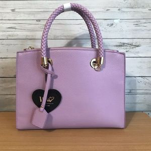 NWT lavender vegan purse